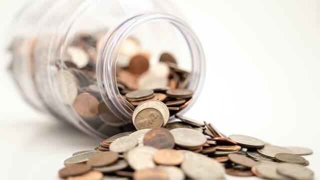 financiering - muntjes in potje